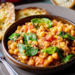 Jose Pizarro chickpea and spinach stew recipe on Sunday Brunch