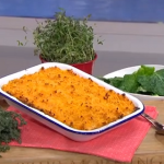 Phil Vickery low calorie shepherd's pie with mushrooms and lentils recipe on This Morning