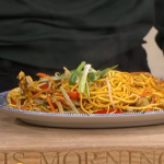 Kwoklyn Wan chow mein masterclass with mushroom stir-fry sauce recipe on This Morning