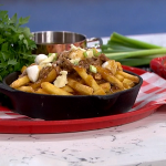 Phil Vickery posh chips and gravy with duck legs recipe on This Morning