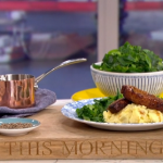 Jack Monroe sugar and spice pork belly with creamy mash potatoes recipe on This Morning