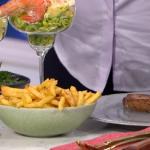 Angela Hartnett steak with Peppercorn sauce and Bearnaise sauce recipe on This Morning