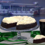 Clodagh McKenna St Patrick's Day chocolate Guinness cake recipe on This Morning