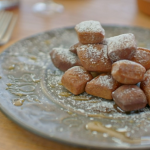 Ainsley Harriott  chestnut beignets recipe on Ainsley's Mediterranean Cookbook