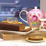 Rustie Lee ginger cake with golden syrup recipe on This Morning