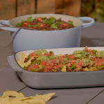 Ian and Henry's Ultimate Chilli with Big Bad Nachos and vegan cheese recipe on Living On The veg