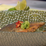 Gok's Vietnamese Noodle Salad with sea bass recipe on This Morning