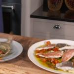 James Martin Cornish pan-fried fish with sauce vierge recipe on This Morning