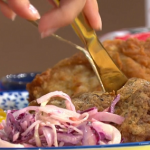 Phil Vickery KFC inspired fried chicken with sweet corn and sour cream recipe on This Morning