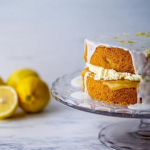 Simon Rimmer Lemon Drizzle Victoria Sponge recipe on Sunday Brunch