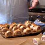 John Torode lockdown sausage rolls recipe on This Morning