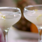 John Torode lychee and rose water recipe on John and Lisa's Weekend Kitchen