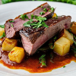 Simon Rimmer Duck with Chraimeh Sauce recipe on Sunday Brunch