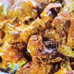 Aromatic lamb curry with aubergines and rogan josh paste recipe on Jamie's Quick and Easy Food