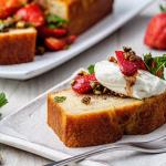 Simon Rimmer Strawberry Yoghurt Cake recipe on Sunday Brunch