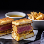 Simon Rimmer steak katsu curry sando recipe on Sunday Brunch