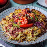 Simon Rimmer Corned Beef Hash Rosti recipe on Sunday Brunch