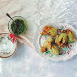 Ravinder Bhogal Keralan Crab Stuffed Courgette Flowers recipe on Sunday Brunch