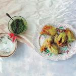 Ravinder Bhogal Keralan Crab Stuffed Courgette Flowers recipe on Sunday Brunch