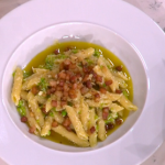 Angela Hartnett summer pasta with peas and broad beans recipe on This Morning