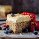 Simon Rimmer Carrot Cake Cheesecake with Courgettes recipe on Sunday Brunch