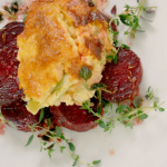Brian Turner cheese and leek pudding recipe on Ainsley's Food We Love