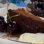 Ravneet Gill flour free chocolate cake recipe on This Morning