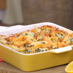 John Torode midweek pasta bake with mince lamb recipe on This Morning