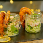 Vick Hope spicy prawn cocktail recipe on Ainsley's Food We Love