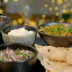 Anita Rani Baingan bharta curry recipe on Ainsley's Food We Love