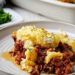 Simon Rimmer Greek Style Shepherds Pie recipe on Sunday Brunch