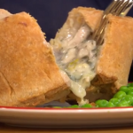John Torode chicken and mushroom pie with a butter cream pastry recipe on This Morning
