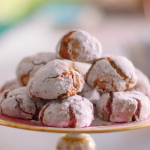 Nadiya Hussain raspberry amaretti biscuits recipe on Nadiya Bake