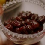 Nigella Lawson cherries jubilee with kirsch  liqueur recipe on Nigella's Cook, Eat, Repeat