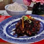 Gok Wan Friday night crispy chilli beef with rice recipe on This Morning