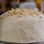 Nigella Lawson layered chocolate and peanut butter cake recipe on Nigella's Cook, Eat, Repeat