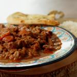 Sabrina Ghayour spiced pork stew recipe on Ainsley's Food We Love