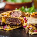 Big Zuu cheeseburger quesadillas recipe on Sunday Brunch