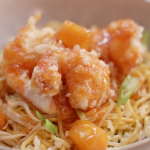 John Torode sweet and sour prawns and noodles recipe on John and Lisa's Weekend Kitchen