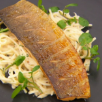 Monica Galetti smoked trout with celeriac remoulade recipe on Masterchef The Professionals