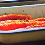 Jamie Oliver clementine and rosemary roast carrots recipe on This Morning