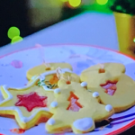 Anton Du Beke Christmas biscuits with boiled sweets recipe on This Morning