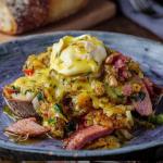 Simon Rimmer Glazed Ham Breakfast Hash recipe on Sunday Brunch