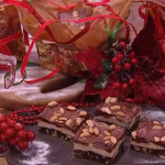 John Whaite no bake peanut butter and chocolate bars on Steph's Packed Lunch