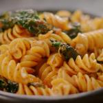 Nigella Lawson pappardelle pasta with nduja sauce and cavolo nero recipe on Nigella's Cook, Eat, Repeat