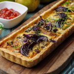 Simon Rimmer Pear and Roquefort Tart recipe on Sunday Brunch