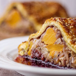 Simon Rimmer Squash with Sage and Onion Wellington recipe on Sunday Brunch