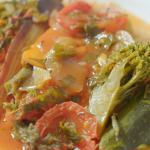 Rick Stein Cornish briam (roasted vegetable traybake) recipe on Rick Stein's Cornwall