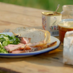 Rick Stein BBQ butterflied leg of lamb with rosemary and thyme recipe on Rick Stein's Cornwall