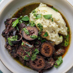 Simon Rimmer Slow Cooked Beef with Salsa Verde recipe on Sunday Brunch